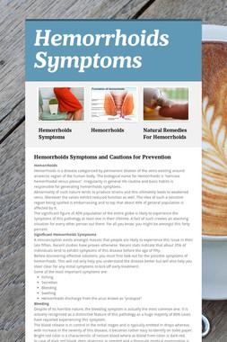 Hemorrhoids Symptoms