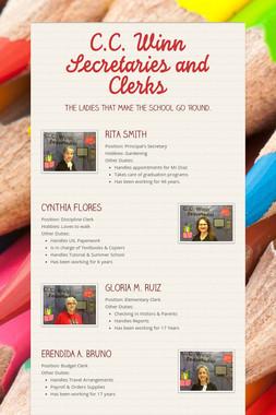 C.C. Winn Secretaries and Clerks