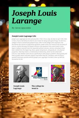 Joseph Louis Larange