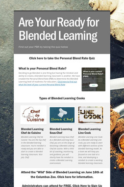 Are Your Ready for Blended Learning