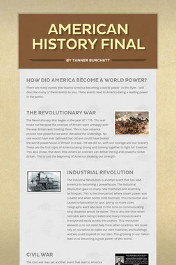 American History Final