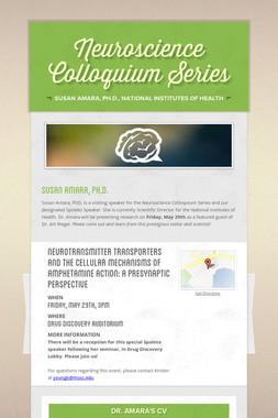 Neuroscience Colloquium Series