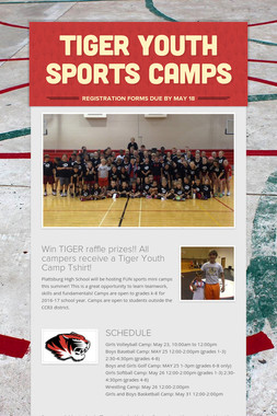 TIGER YOUTH SPORTS CAMPS