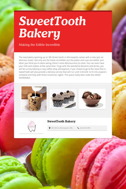 SweetTooth Bakery
