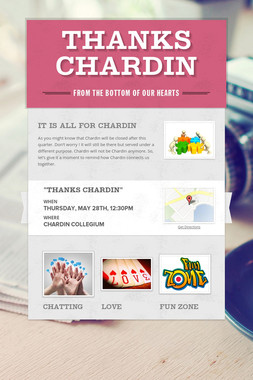 Thanks Chardin
