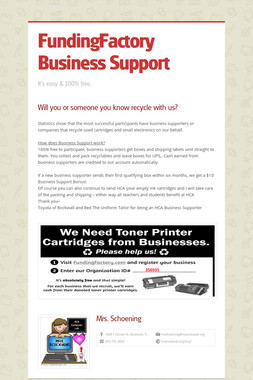 FundingFactory  Business Support