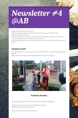 Newsletter #4 @AB