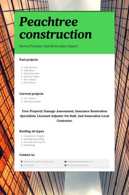 Peachtree construction