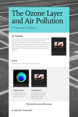 The Ozone Layer and Air Pollution