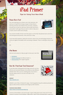 iPad Primer