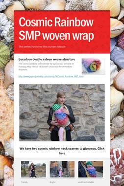 Cosmic Rainbow SMP woven wrap
