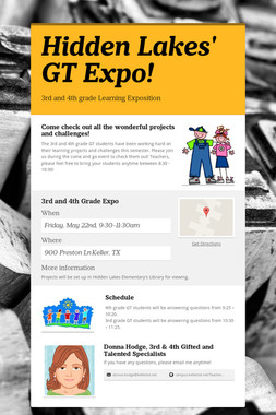 Hidden Lakes' GT Expo!