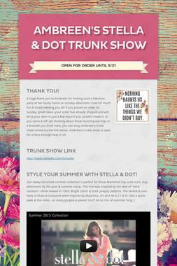 Ambreen's Stella & Dot Trunk Show