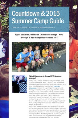 Countdown & 2015 Summer Camp Guide