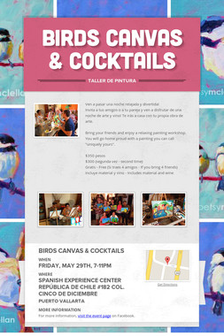Birds Canvas & Cocktails