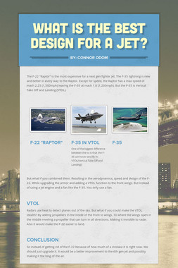What is the best design for a Jet?