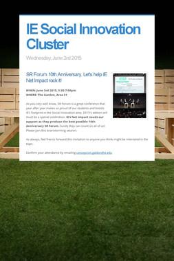 IE Social Innovation Cluster
