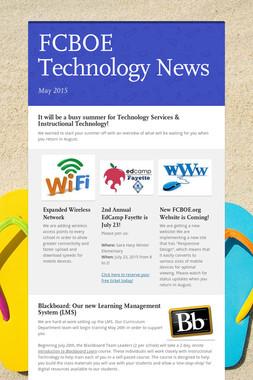 FCBOE Technology News