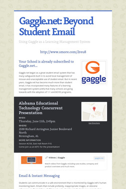 Gaggle.net: Beyond Student Email