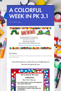 A COLORFUL WEEK IN PK 3.1