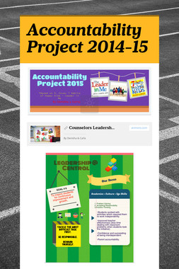 Accountability Project 2014-15