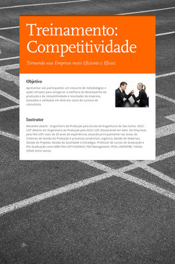 Treinamento: Competitividade