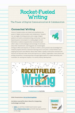 Rocket-Fueled Writing