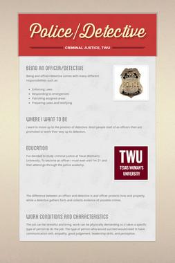 Police/Detective