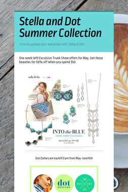 Stella and Dot Summer Collection