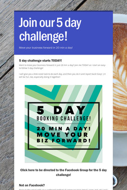 Join our 5 day challenge!