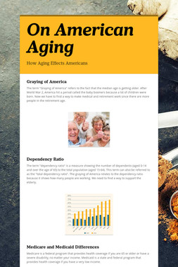 On American Aging