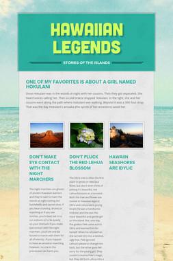 Hawaiian Legends