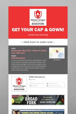 Get your cap & gown!