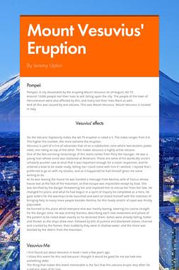 Mount Vesuvius' Eruption