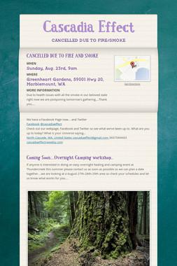 Cascadia Effect