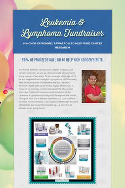 Leukemia & Lymphoma Fundraiser