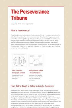 The Perseverance Tribune