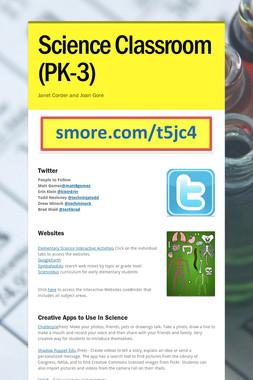 Science Classroom (PK-3)