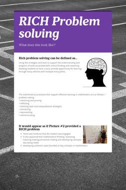 RICH Problem solving