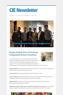 CIE Newsletter