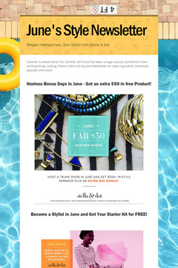 June's Style Newsletter