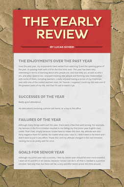 THE YEARLY REVIEW