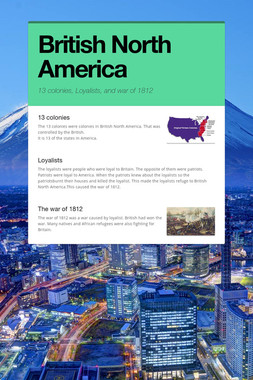 British North America