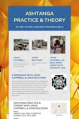 Ashtanga Practice & Theory