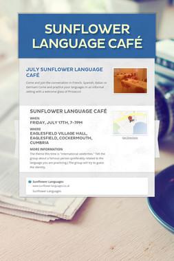 Sunflower Language Café