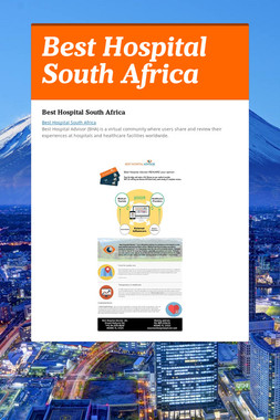 Best Hospital South Africa
