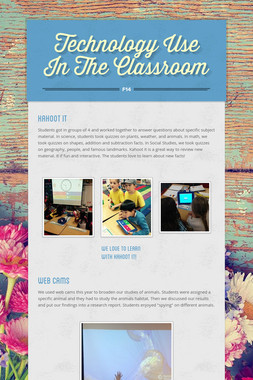 Technology Use In The Classroom