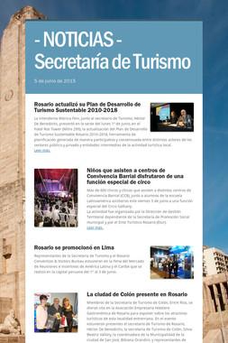 - NOTICIAS - Secretaría de Turismo