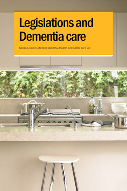 Legislations and Dementia care