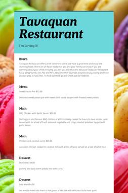 Tavaquan Restaurant